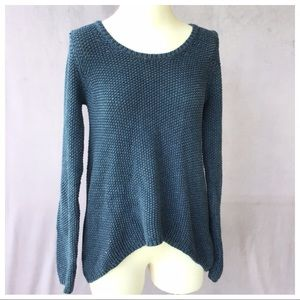 Margaret O'Leary High Low Chunky Knit Sweater S/M